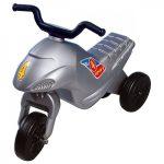 Járművek - Lábbalhajtós - Szürke háromkerekű motorbicikli