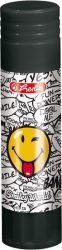 Írószerek - Iskolaszerek - Ragasztók - Smiley- ragasztóstift 21gr