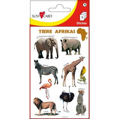 Matricák - Afrika állatai matricagyűjtemény