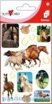 Írószerek - Iskolaszerek - Matricák - Patkó és ló matricacsomag