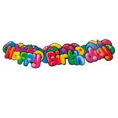 Szülinapi felirat - Happy Birthday - 1,3méter