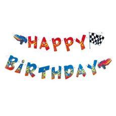 Szülinapi felirat - Happy Birthday - Autók