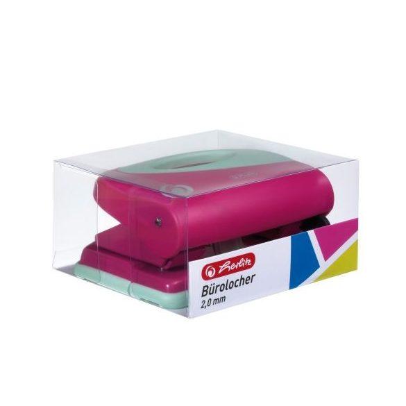 Irodai eszközök - Lyukasztók - Herlitz pink lyukasztó