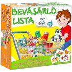 Társasjátékok - Bevásárló lista játék