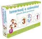 Párosító játék gyerekeknek - Ismerkedj a számokkal fejlesztő játék