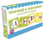 Párosító játék gyerekeknek - Ismerkedj a számolással fejlesztő játék gyerekeknek