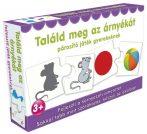 Párosító játék gyerekeknek - Találd meg az árnyékát Fejlesztő játék kicsiknek