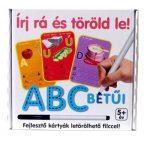 Társasjátékok - ABC kártyák - Írásfejlesztő játék