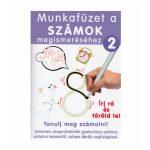 Foglalkoztató könyvek - Munkafüzet a számok gyakorlásához letörölhető filccel Írd rá és töröld le!
