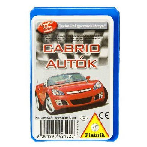 Kártyajátékok - Autós kártya - Piatnik - Cabriolet