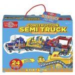 Puzzle - Egyszerű - T.S. Shure kamion jumbo puzzle