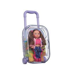 Játék babák - Simba Steffi baba - Bőrönddel