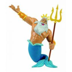 Mese figurák - Kis hableány Triton király A tenger királya játékfigura