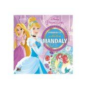 Kifestők - Színezők - Disney Hercegnők Mandala színező 24 lap