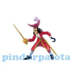 Mese figurák - Mese szereplők - Hook kapitány játékfigura Bullyland, Walt Disney, Pán Péter