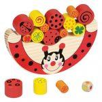 Készségfejlesztő - Ügyességi játék - Egyensúlyozó játék katicás