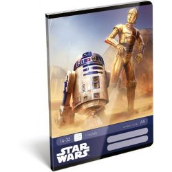 Füzetek - Tűzött füzet, A5, 1. osztályos, Star Wars Classic Droids