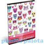 Füzetek - Füzet borítók - Leckefüzet, Lollipop, Light Owl