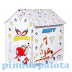 Kreatív hobby készletek a gyermeki kreativitás kibontakozásához - Színezhető karton házikó Repcsik