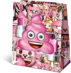 Ajándék tasakok - Ajándéktasak Emoji Pink