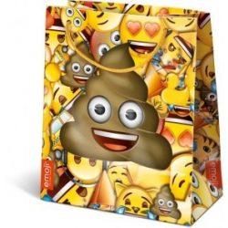 Ajándék tasakok - Ajándéktasak Emoji Poop