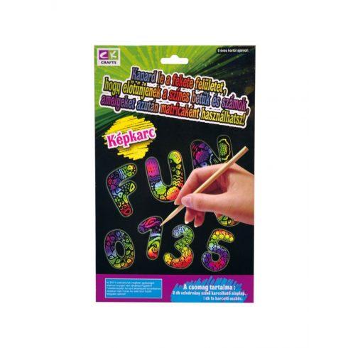 Kreatív hobby - Készletek - karcolós kreatív játék