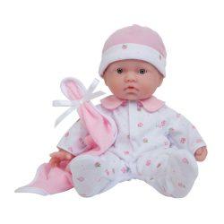 Élethű játékbabák - Élethű Berenguer babák - Újszülött puhatestű baba, virágos pizsamában, 28 cm