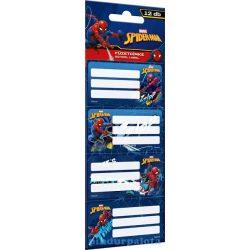 Iskolaszerek - Füzetcímke Spider-Man