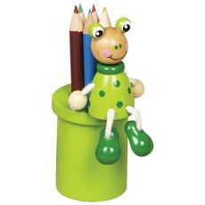 Ceruzatartók - Békás ceruzatartó ceruzákkal