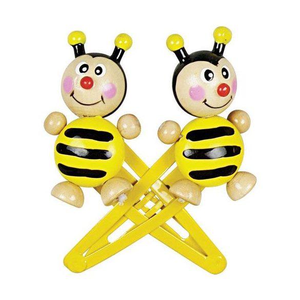 Hajbavalók - Méhecskés hajcsatt kislányoknak