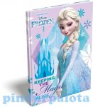 Füzetek - Notesz keményfedeles A5 Frozen kastély