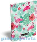 Füzetek - Notesz keményfedeles A5 Lollipop Flamingo