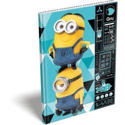 Füzetek - Notesz keményfedeles A5 Minions Gadget