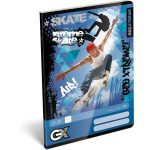 Papírblokkok - Noteszek - Papírfedeles notesz, A/7, GEO Xtreme Skate