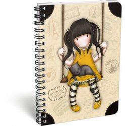 Füzetek - Füzet borítók - Spirálfüzet A4 Exkluzív, Gorjuss Ruby Vacation