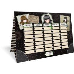 Barkács kartonok, Rajzlapok, Színes papírok, papírblokkok - Órarend Exkluzív, Gorjuss, The Scarf Vac