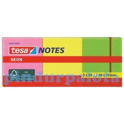 Neon irodai jegyzettömb