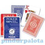 Kártyajátékok - Piatnik - Plasztik póker nagyindex kártya