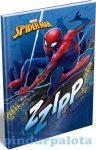 Füzetek - Füzet borítók - Notesz keményfedeles A5 Spirit Spiderman