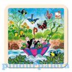 Fa puzzle - Kisvakond és az esernyő puzzle