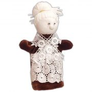 Ujj bábok - Kesztyű bábok - Báb Nagymama