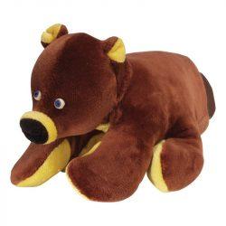 Játékbabák - Kesztyűbáb gyerek kézre, barna maci