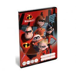 Füzetek - Füzet tűzött A/5 1.o. The Incredibles