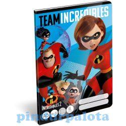 Füzetek - Füzet tűzött A/5 2.o. The Incredibles Team
