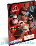 Füzetek - Füzet tűzött A/5 3.o. The Incredibles