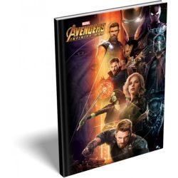 Füzetek - Füzet tűzött A/5 kockás Avengers Infinity