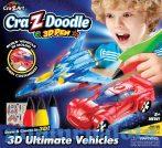 Kreatív hobby - Készletek - 3 D toll készíts akciófigurát Cra-Z-Art