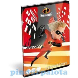 Füzetek - Leckefüzet The Incredibles Dash