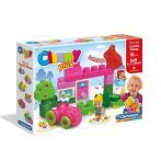 Clemmy játékok - Építőkockák babáknak - Vidéki ház