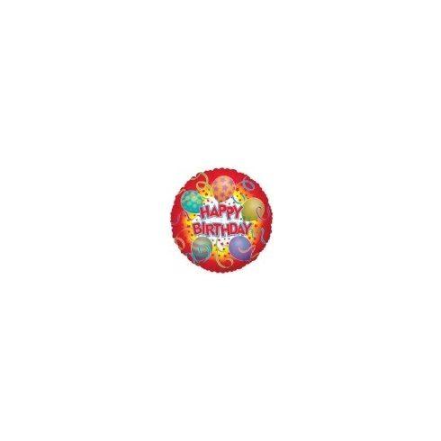 """Party kellékek - Fólia lufik - Happy Birthday fólia 18"""""""